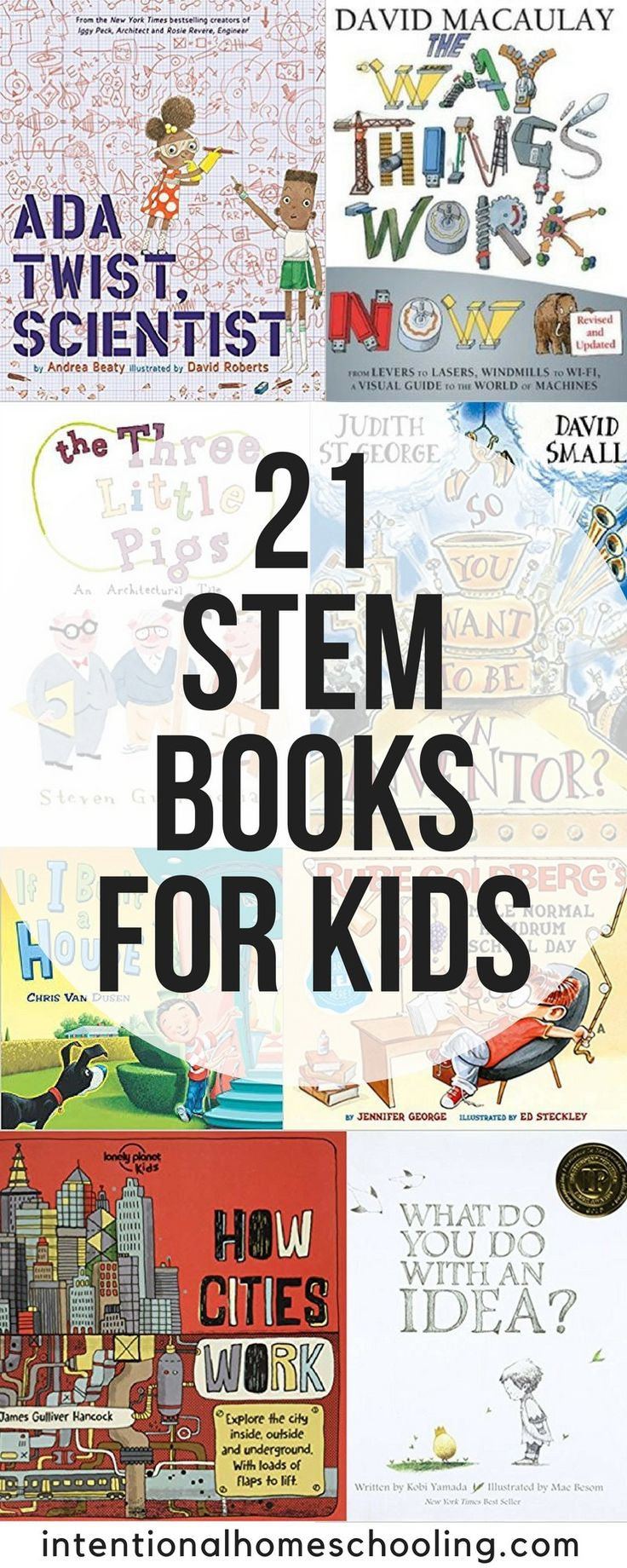 The best STEM books for kids, including picture books and non-fiction STEM books... 2