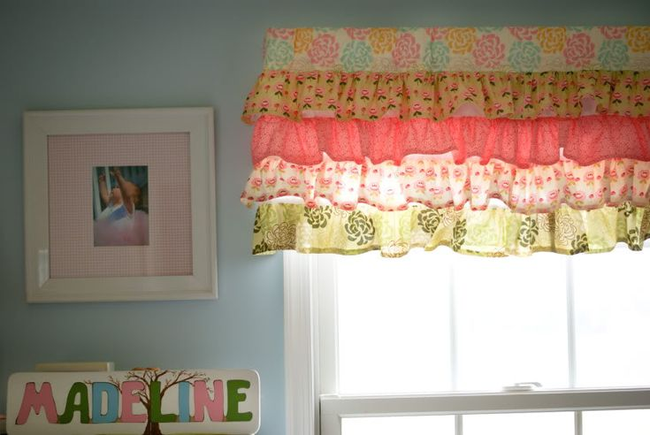 @Jan Wilke Contway What do you think of these style valances for Eden's room? This links to the tutorial :)