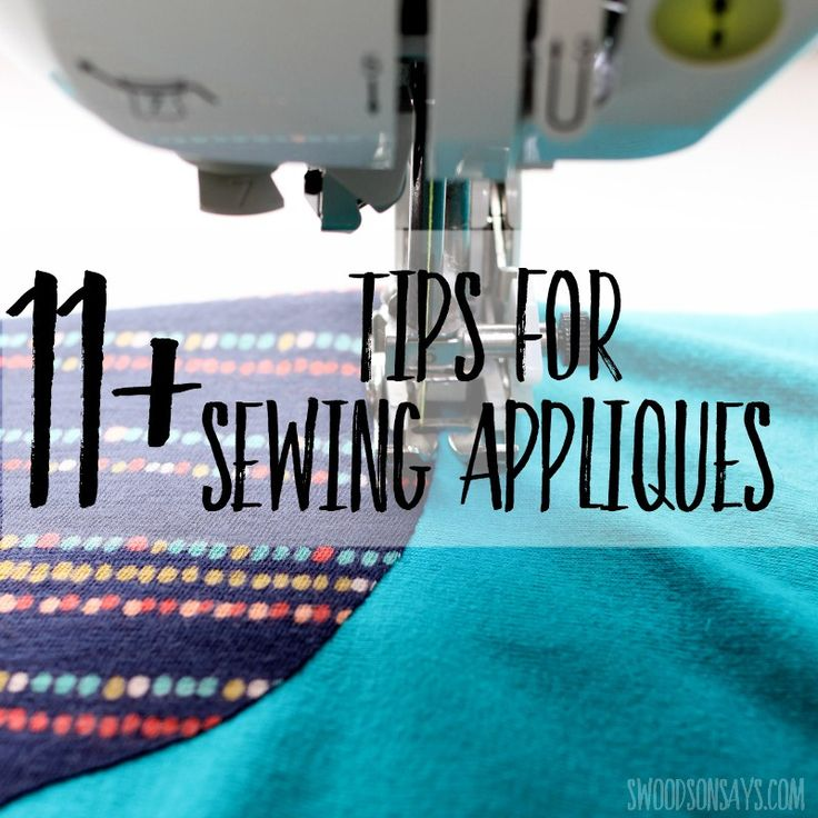 Sewing tutorial: Beginners guide to applique