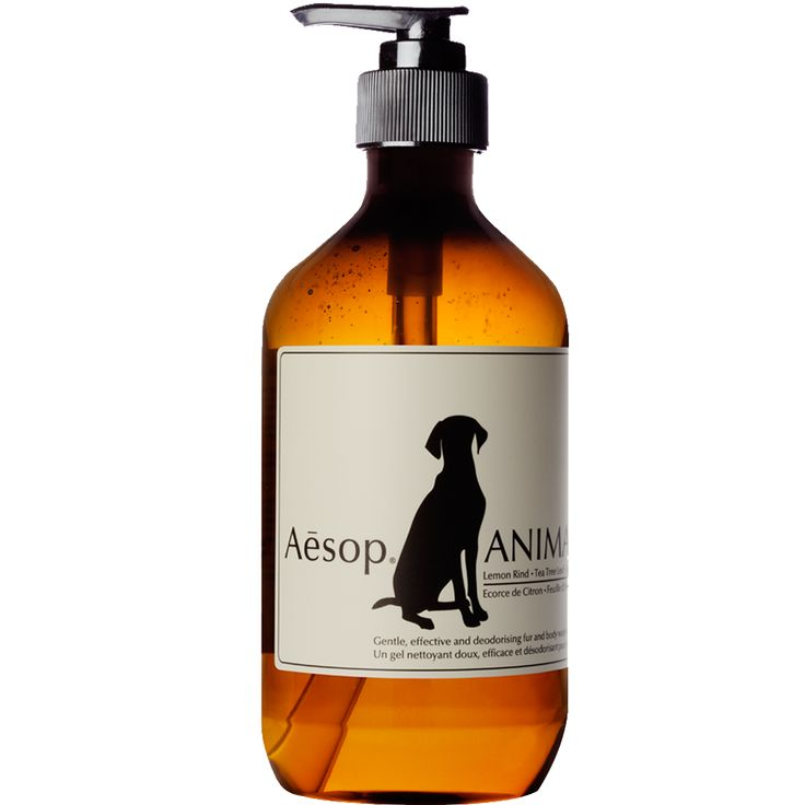 Aēsop Animal - A gentle fur cleanser for pampered pets. This mild skin and fur wash gently cleanses and deodorises. Made with the same assiduous attention to research and development as we apply to our products for humans.