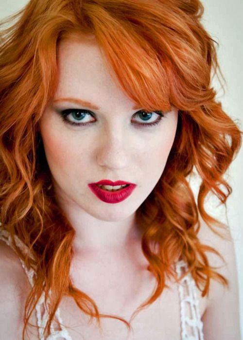 big tit redhead Flaming