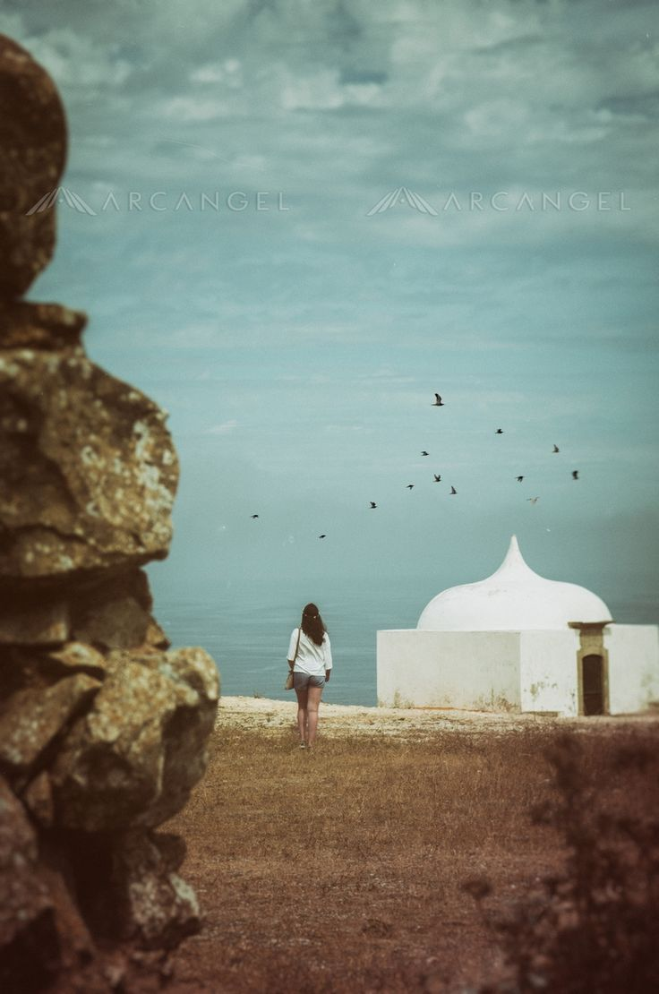 Girl Walking to White Chapel