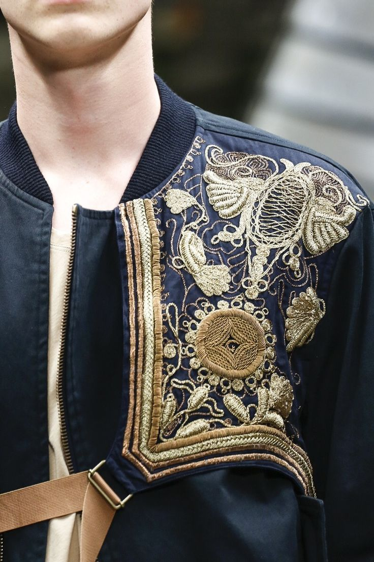 Dries Van Noten SS15 #fashion