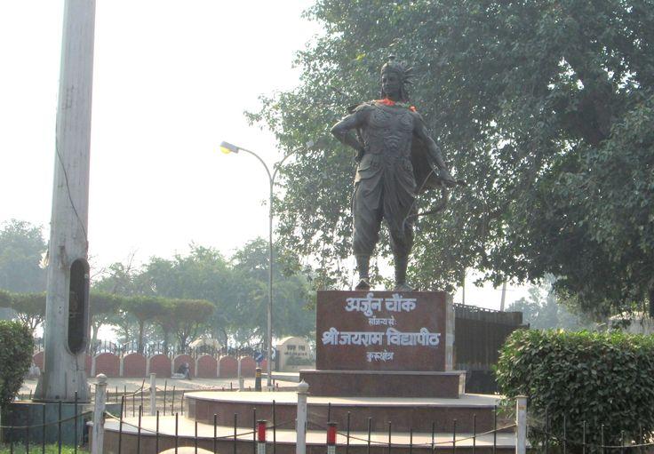 Arjun Chowk in Kurukshetra