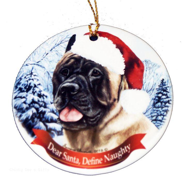 Pet Gifts USA Cane Corso Fawn Christmas Ornament