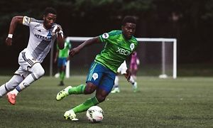 Groupon - $ 25 for One Ticket to See a Seattle Sounders FC 2 USL Soccer Match and an S2 Scarf at Starfire Stadium on July 12 ($37.85 Value)   in Starfire Stadium. Groupon deal price: $25
