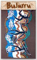 Bulurru  Cotton Teatowel Barramundi Hunters Size:  50cm x 75cm (approx) Code: TT26 Price: $10.50 or 2 for $20.00