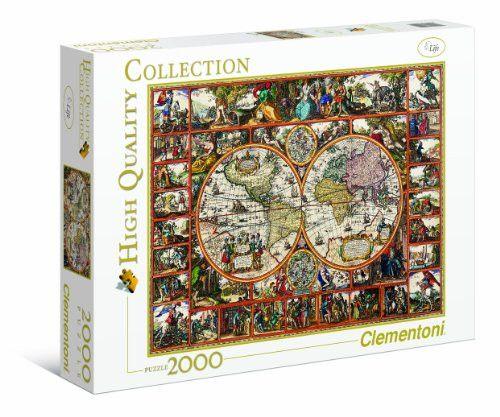 Clementoni Magna Charta Puzzle (2000 Piece)