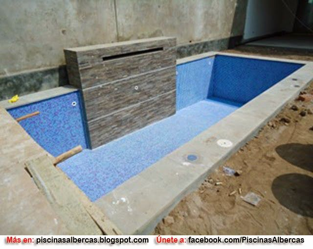 M s de 25 ideas incre bles sobre peque as piscinas en for Como construir una piscina pequena