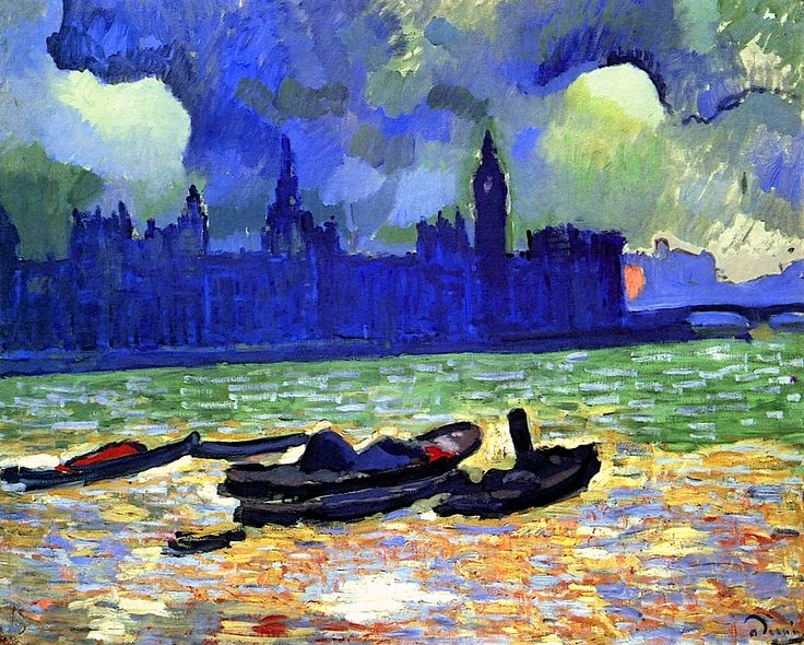 Houses of Parliament at Night, London Andre Derain - 1906