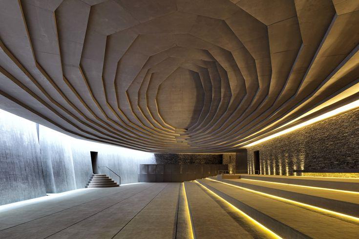 Emre Arolat Architects, Sancaklar Mosque, Istanbul, Turkey