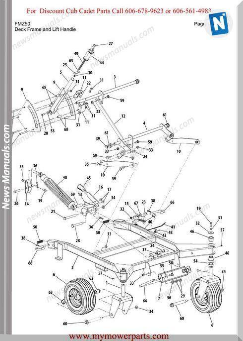 Cub Cadet Parts Diagrams | Wiring Diagram