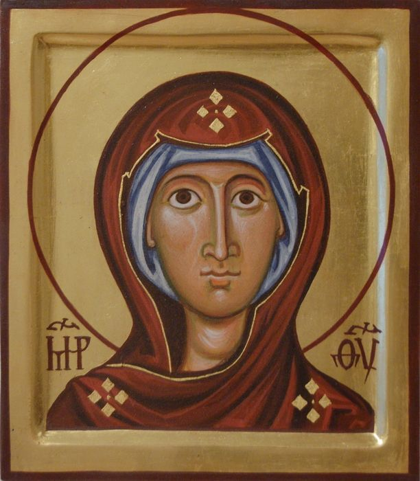 Holy Mary. Coptic type. 2008 by Philip Davydov