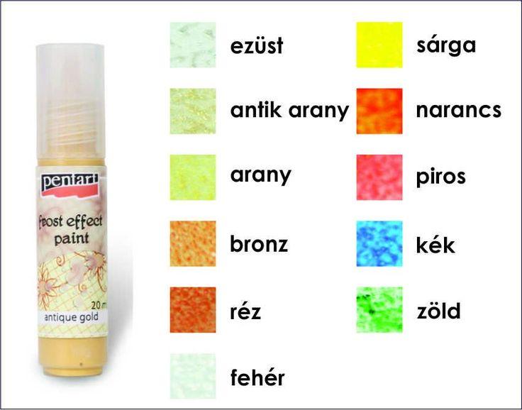 Üvegfesték - Szatináló festék Pentart 20 ml