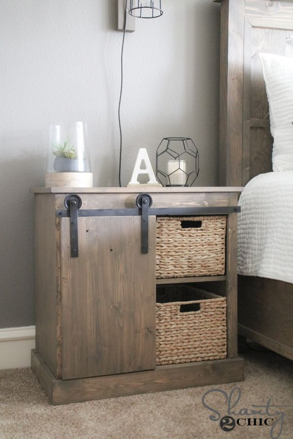 DIY Barn Door Hardware for $20 - Shanty 2 Chic