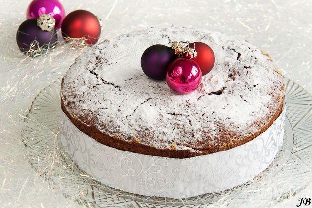Carolines blog: Italiaanse kerstcake met noten en chocolade