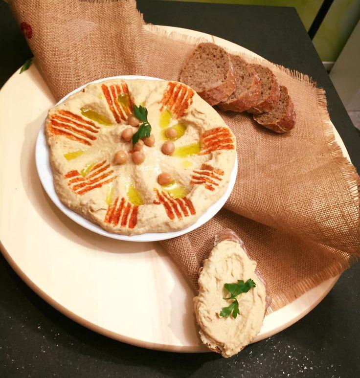 Rețeta hummus, humus, de post, naut, tahini
