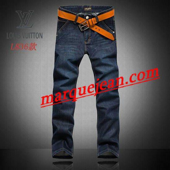 Vendre Jeans Louis Vuitton Homme H0019 Pas Cher En Ligne.