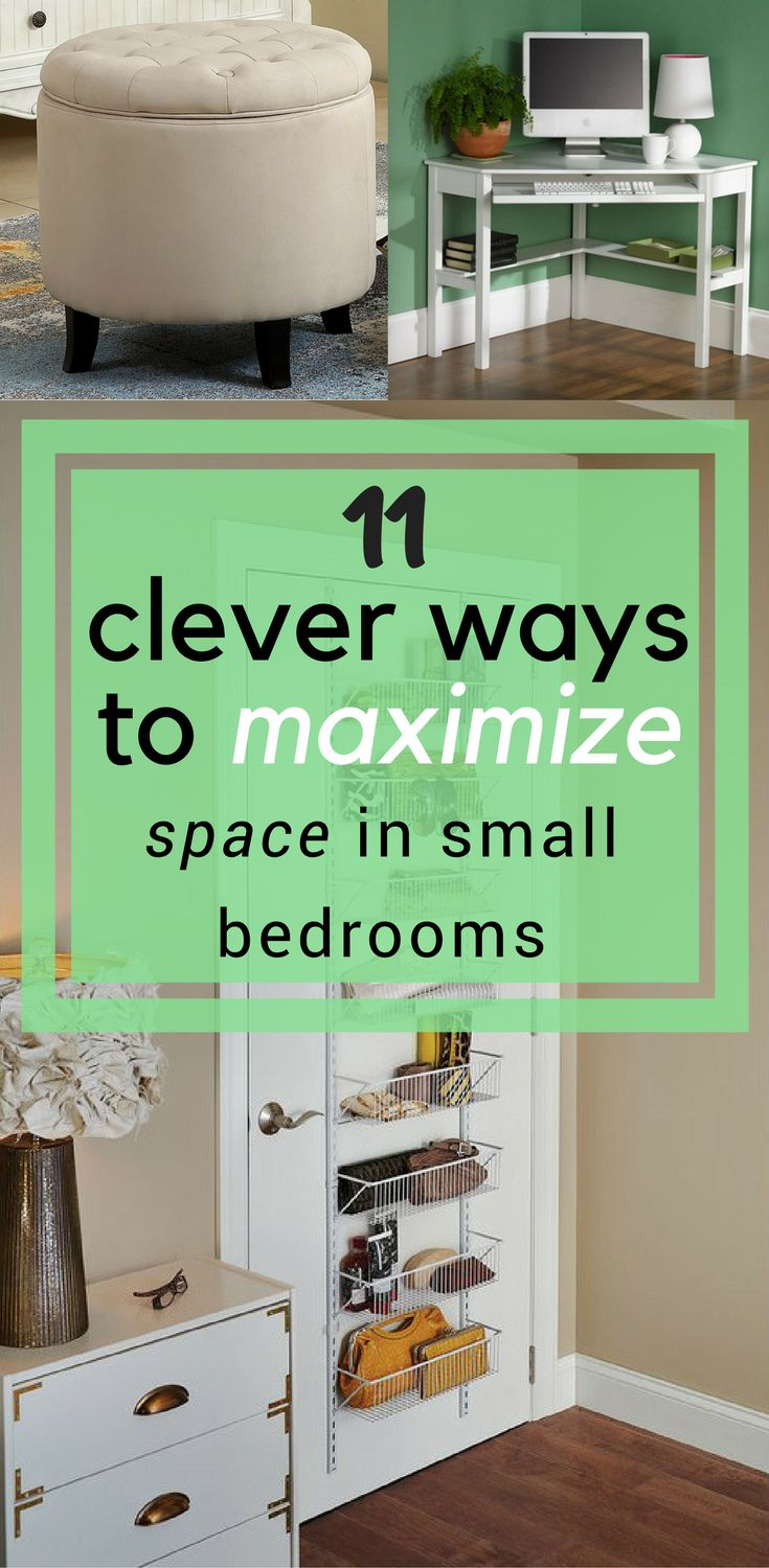 Ways To Maximize Space In A Small Bedroom best 25+ maximize space ideas on pinterest | garage organization