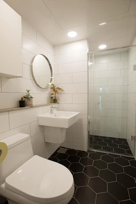 자연을 사랑하는 아이의 더불어 살아가는 집: (주)바오미다의 욕실