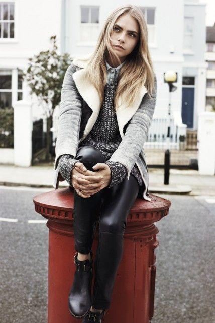 Cara Delevingne Frolics in London for Pepe Jeans
