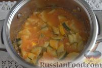 Фото приготовления рецепта: Салат «Татарская песня» из кабачков в остром маринаде - шаг №6