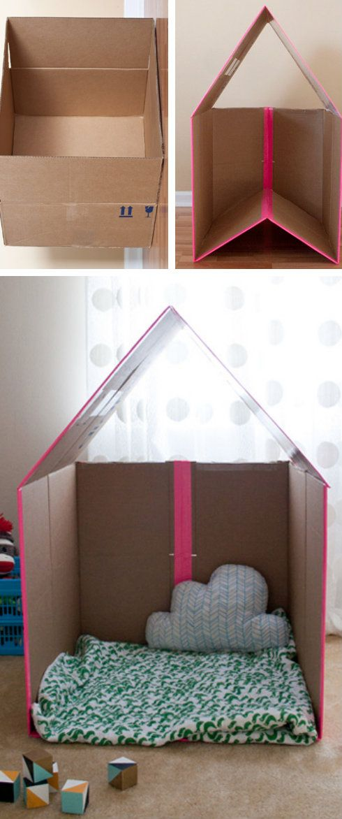Collapsible Box Playhouse