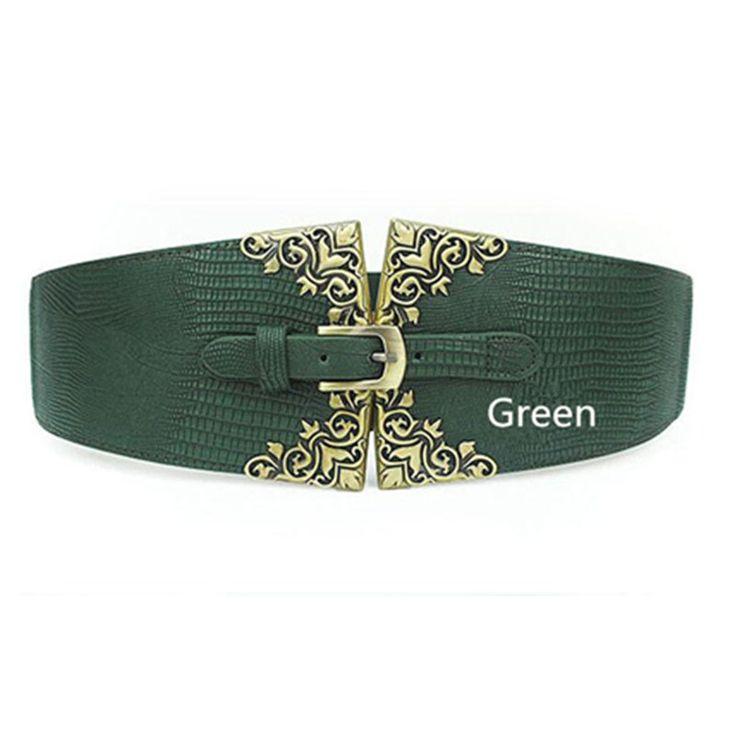 3 Colors Vintage Belt Ladies Elastic Belts PU Leather Wide Belts For Women Coat-in Belts & Cummerbunds from Women's Clothing & Accessories on Aliexpress.com | Alibaba Group
