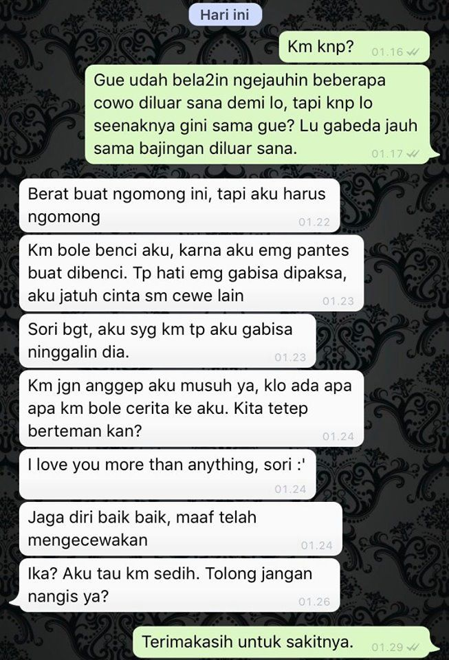 Relationship Chat Indonesia Memelucu Storywa Tw Di 2020