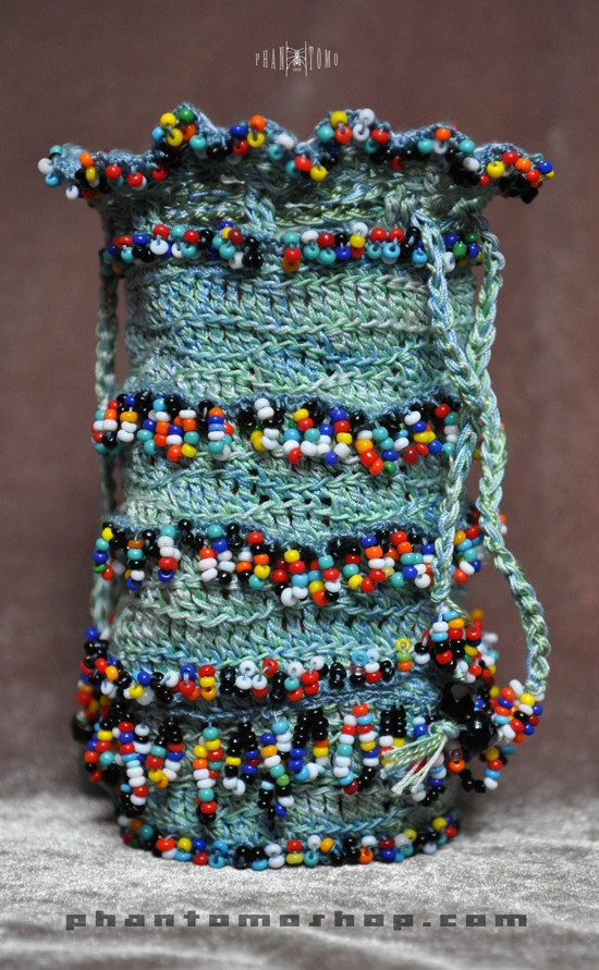 Indian Beaded Reticule
