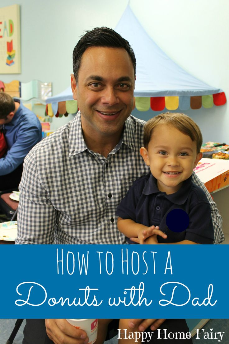 How to Host a Donuts with Dad in Your Preschool Classroom