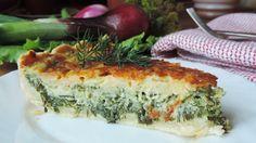 """Открытый творожный пирог с зеленью """"Весенний"""" - пошаговый рецепт с фото: Сочный и ароматный. - Леди Mail.Ru"""