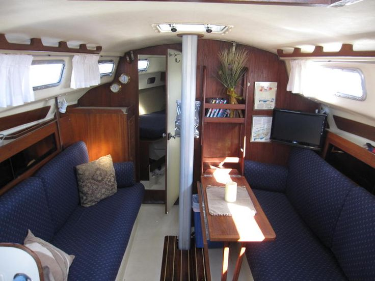 190 best Sailboat interiors images on Pinterest | Sailboat ...