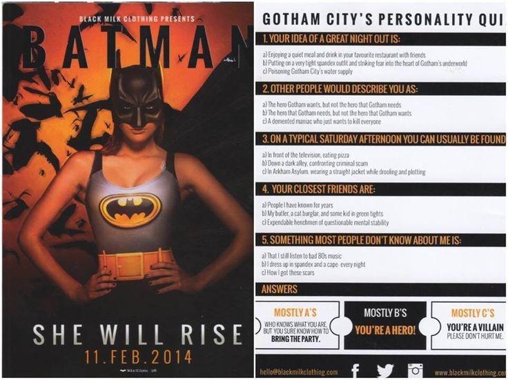 Batman She Will Rise