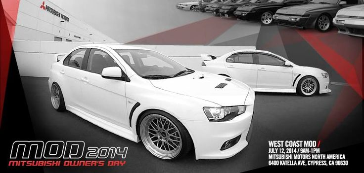 Mitsubishi Owneru0027s Day 2014 Taking Place On Saturday, July 12 Here At The  Heart Of Mitsubishi Motors North America In Cypress, CA!