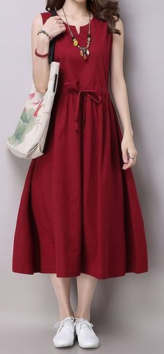 New Women loose fit plus size dress vest tunic casual fashion chic trendy #unbranded