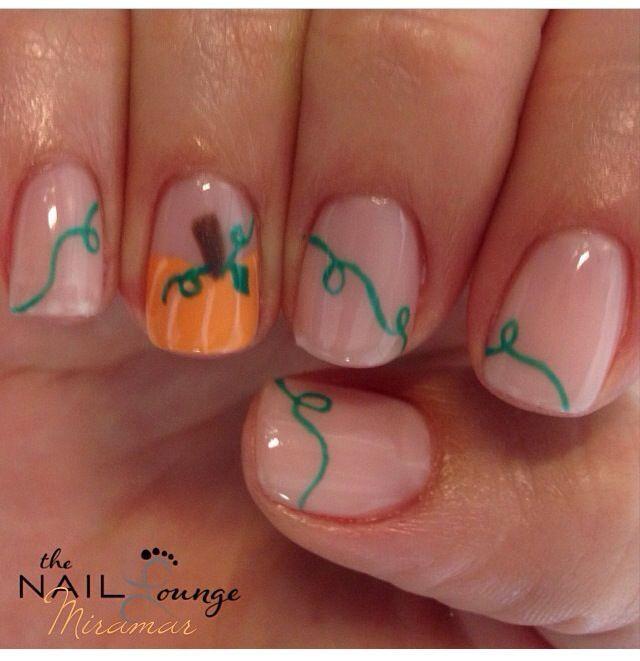 Thanksgiving nails : )