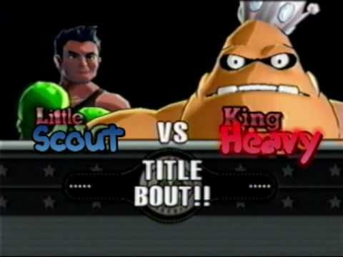 Scout's Punch Out!! - King (VERY) Heavy a.k.a. King Hippo the (VERY) Heavy