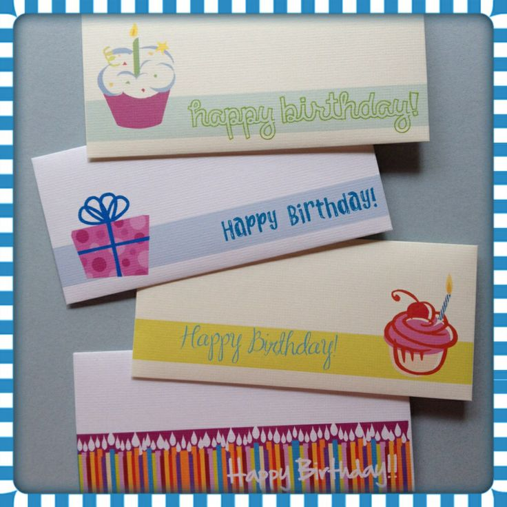 Sobres para cumpleaños