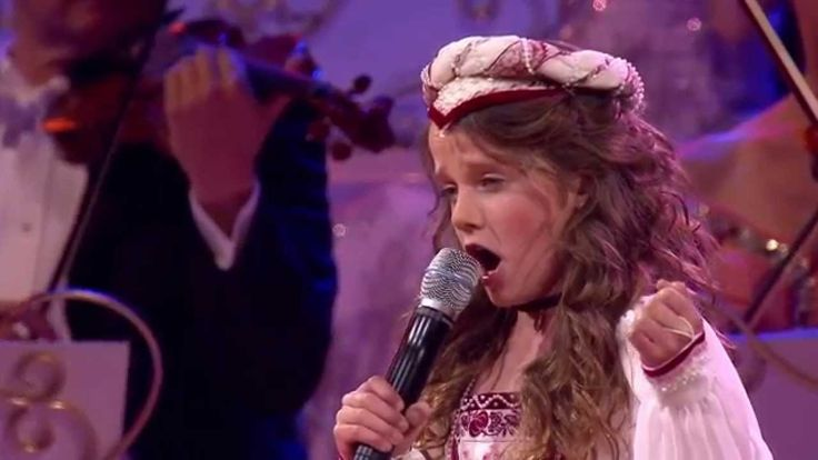 There isn't a dry eye in the house as 9-year-old #Amira_Willighagen_sings O Mio Babino Caro from the opera Gianni Schicchi in a Live Concert with André Rieu http://www.womanyes.com/video-9-year-old-girl-with-an-extraordinary-voice/