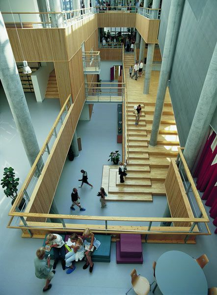 Hellerup Copenhagen Great School Design Too Cool For