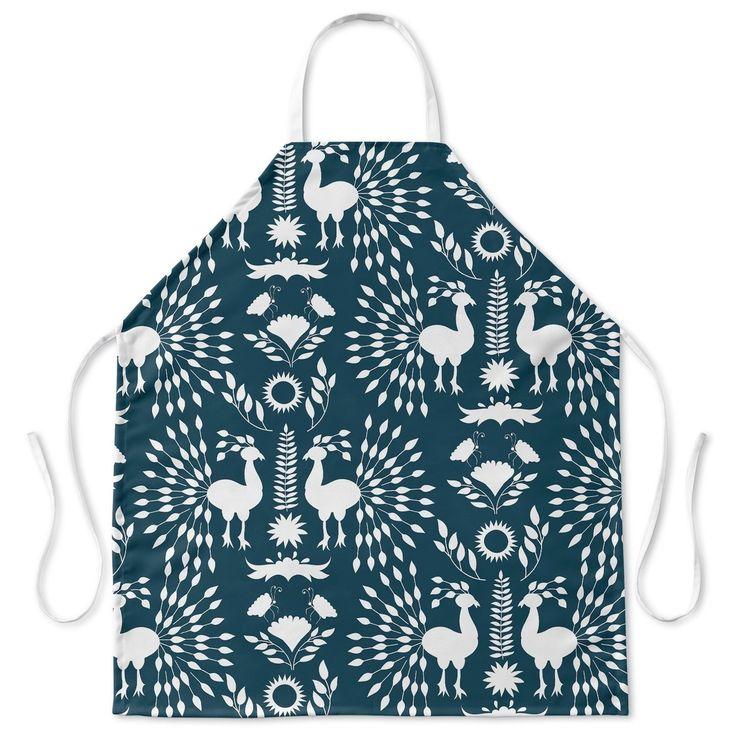 Kavka Designs Christmas Scandinavian Apron By Terri Ellis
