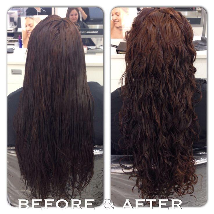Perm on long hair! | Hair & Beauty | Pinterest