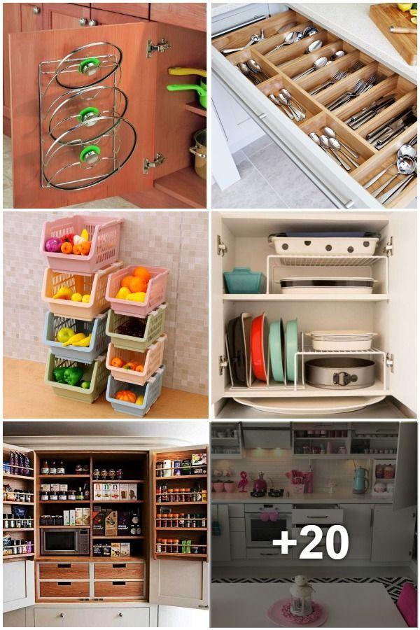 10 großartige Tipps für die Anordnung von Küchenschränken ...