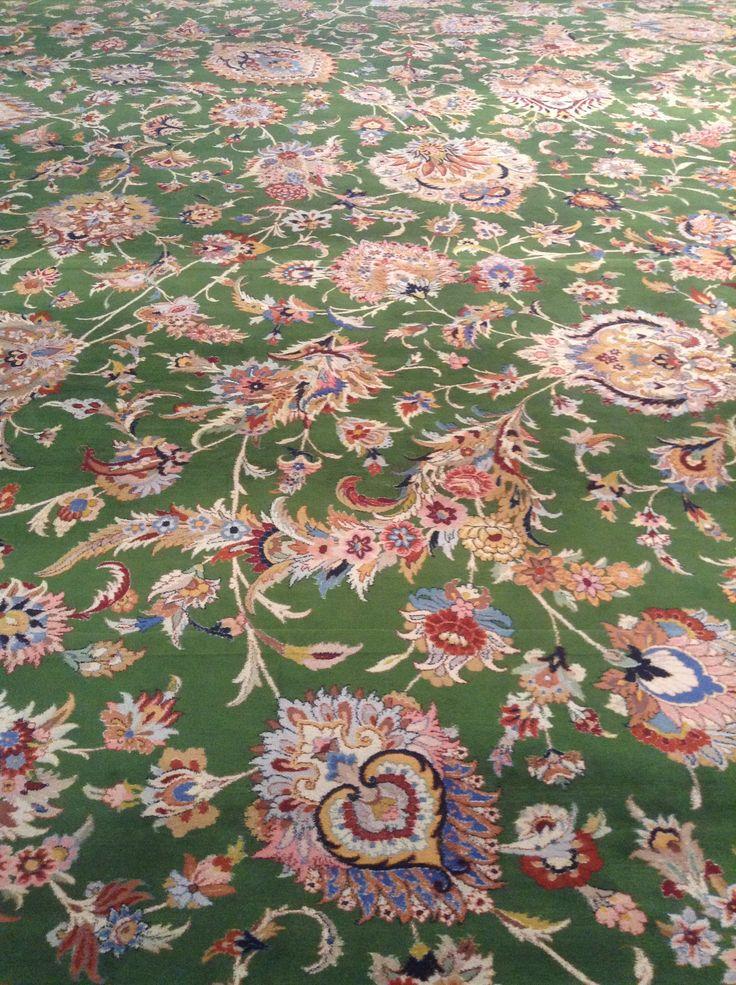 Close-up of the carpet