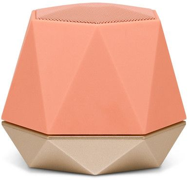 Nanette Lepore Coral/Champagne Jewel Bluetooth Speaker