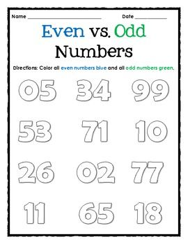 1000+ ideas about Even And Odd on Pinterest | Math, Telling Time ...