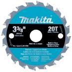Makita 3-3/8 in. 20-Teeth Carbide-Tipped Circular Saw Blade for SH01W
