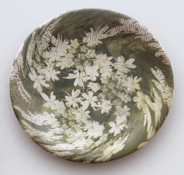 Heidi Harrington - Wood Anenome plate