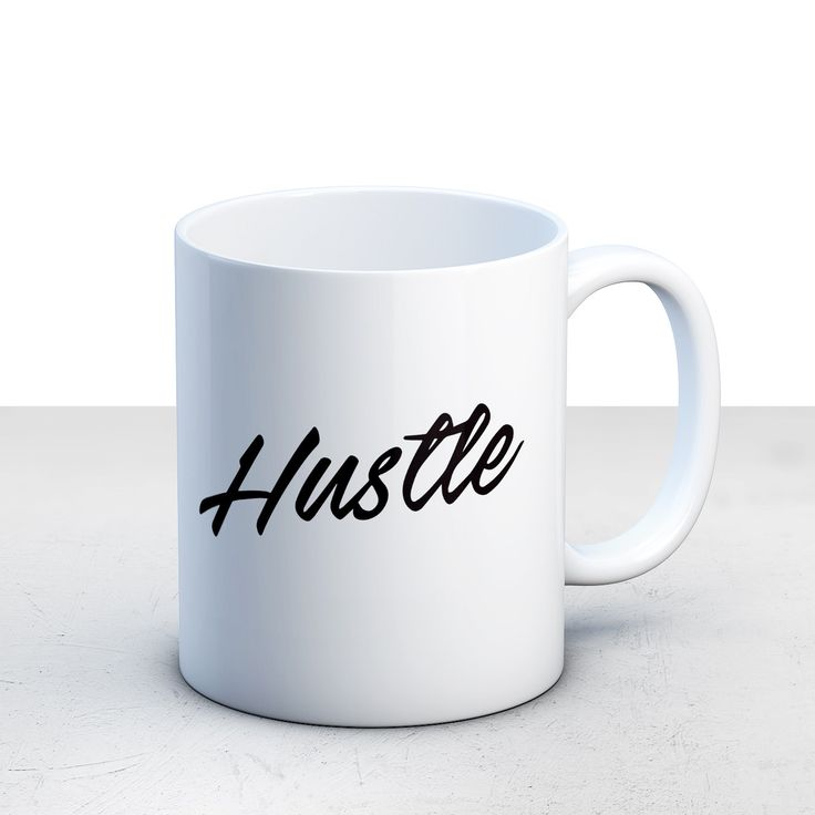 Gifts Under 20 For Her Hustle Coffee Mug Ceramic Inspirational